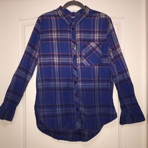 Arizona Button Up Flannel Shirt